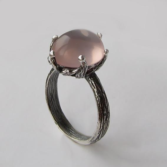 Кольцо с кварцем, арт. ВАС3