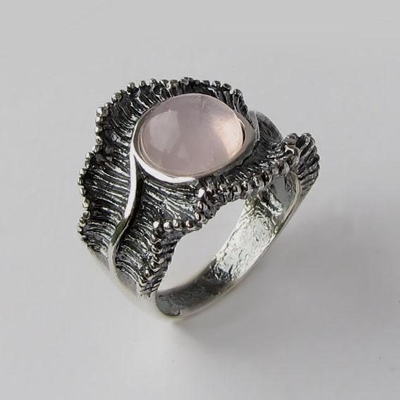 Кольцо с кварцем, арт. ВОЛ32