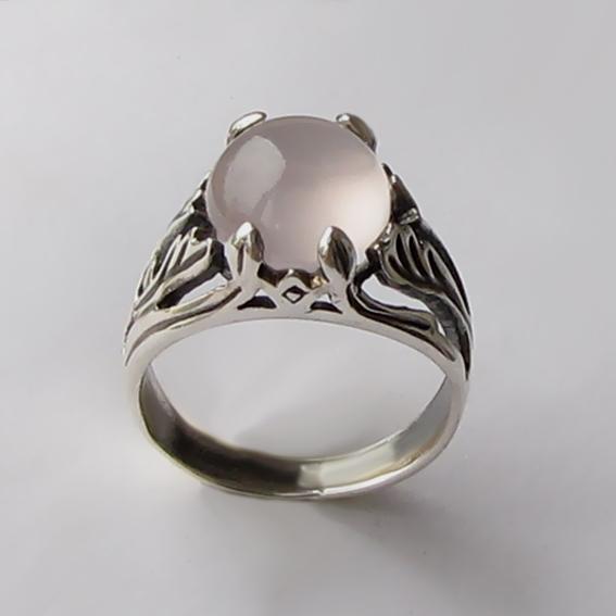 Кольцо с кварцем, арт. ЛИА311