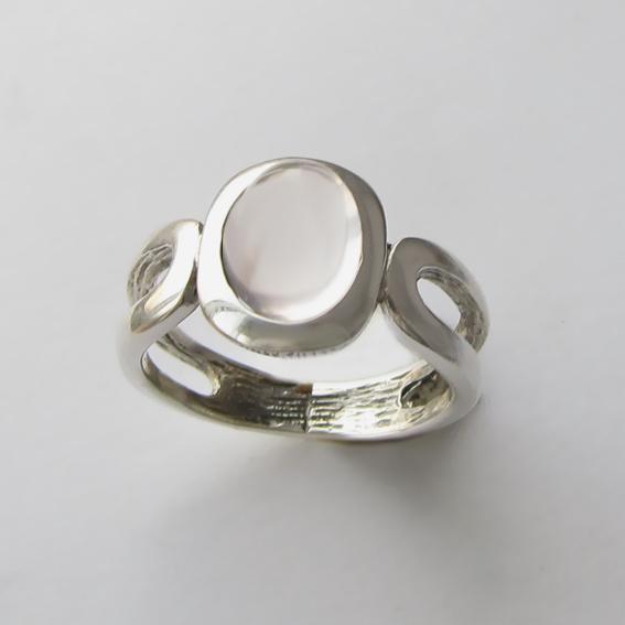 Кольцо с кварцем, арт. ЛСПОВ3