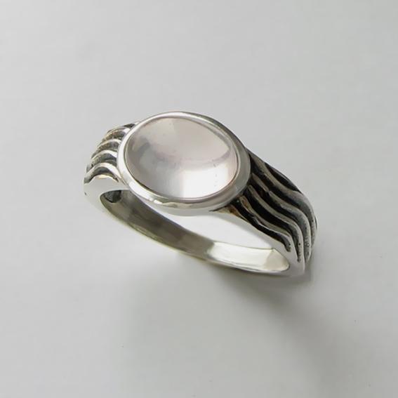 Кольцо с кварцем, арт. МОР3