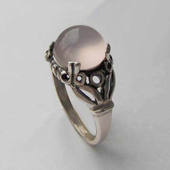 Кольцо с кварцем, арт. ЕФ3
