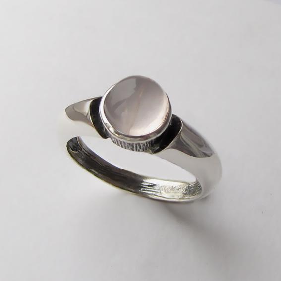 Кольцо с кварцем, арт. ПФ36, серебро 925