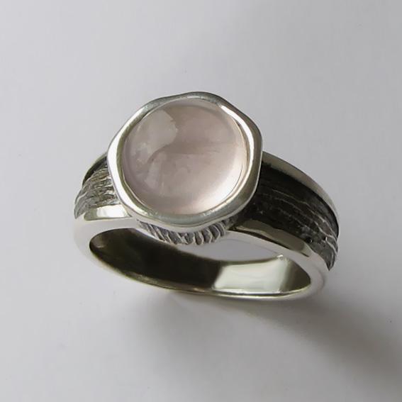 Кольцо с кварцем, арт. ПФ39