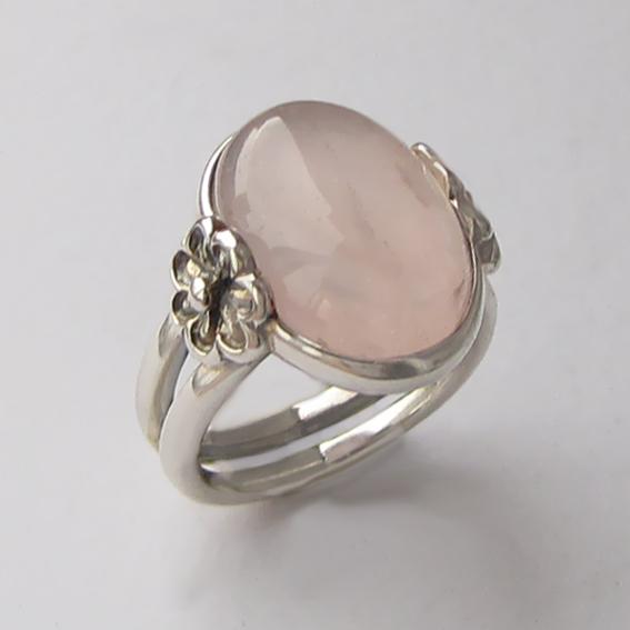 Кольцо с кварцем, арт. РОМ3