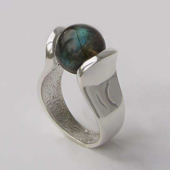 Кольцо с лабрадором, арт. МРС3
