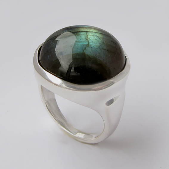 Кольцо с лабрадором, арт. НКН318