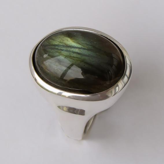 Кольцо с лабрадором, арт. ОВН315