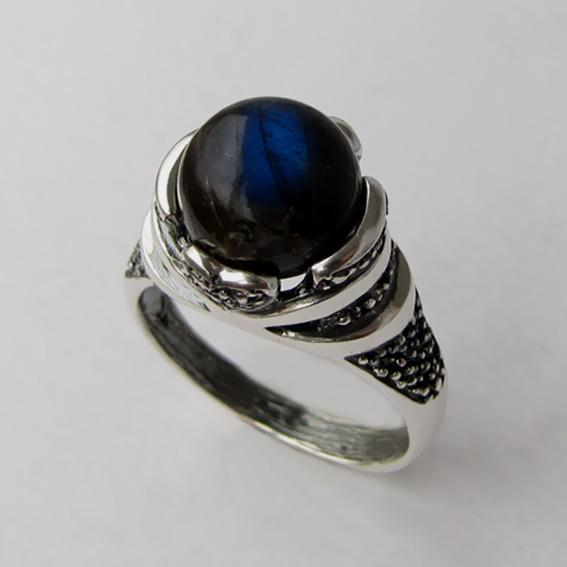 Кольцо с лабрадором, арт. ПЕБА3