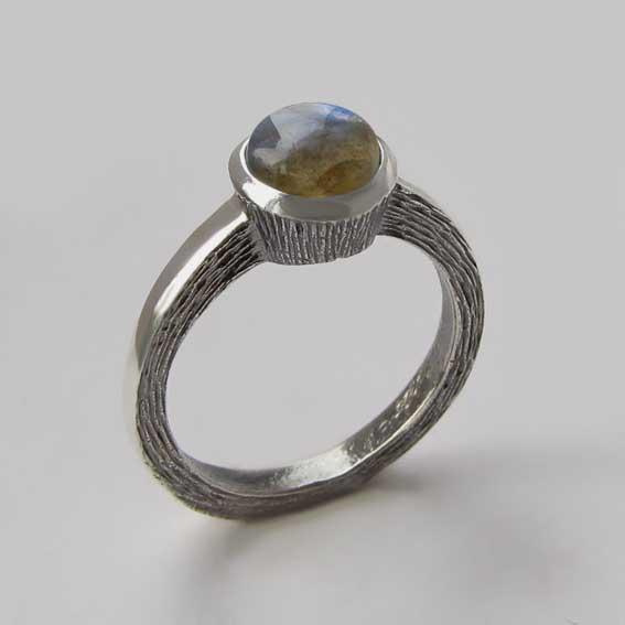 Кольцо с лабрадором, арт. ПФ38