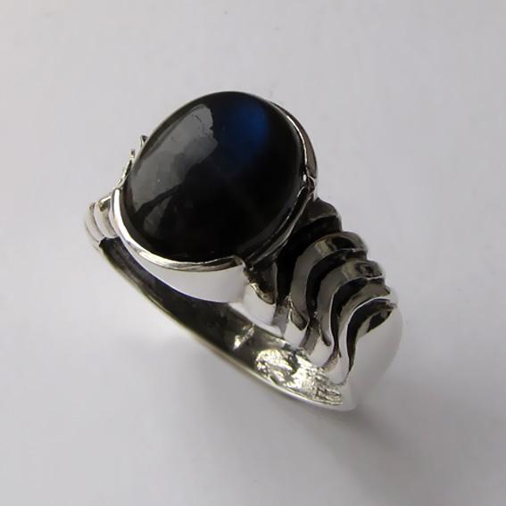 Кольцо с лабрадором, арт. ЧЕШ3-2