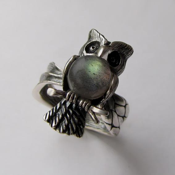Кольцо с лабрадором, арт. ФИЛ3