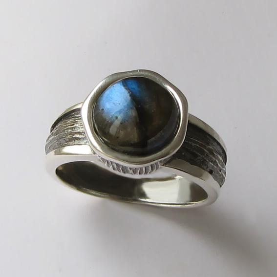 Кольцо с лабрадором, арт. ПФ39Х