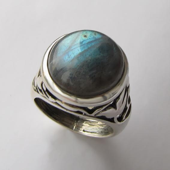 Кольцо с лабрадором, арт. КУ314