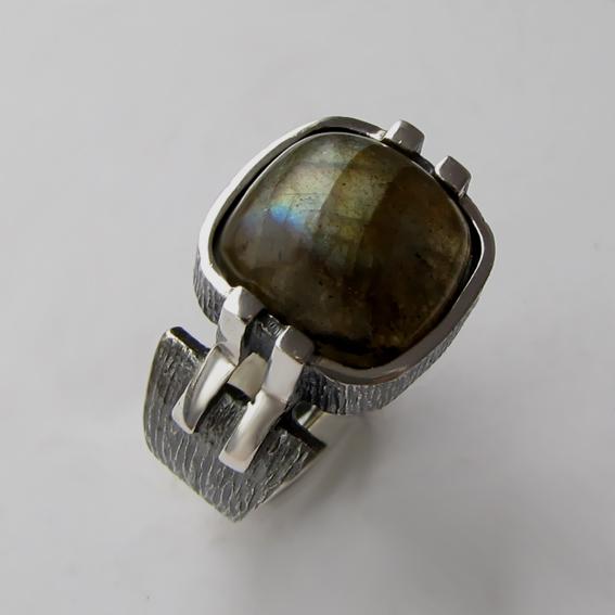 Кольцо с лабрадором, арт. МП3