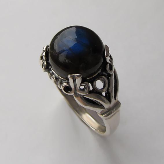 Кольцо с лабрадором, арт. ЕФ3