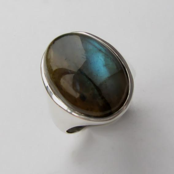 Кольцо с лабрадором, арт. ОВН313