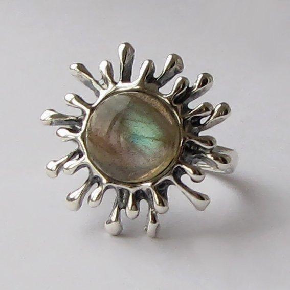 Кольцо с лабрадором, арт. СЧ3
