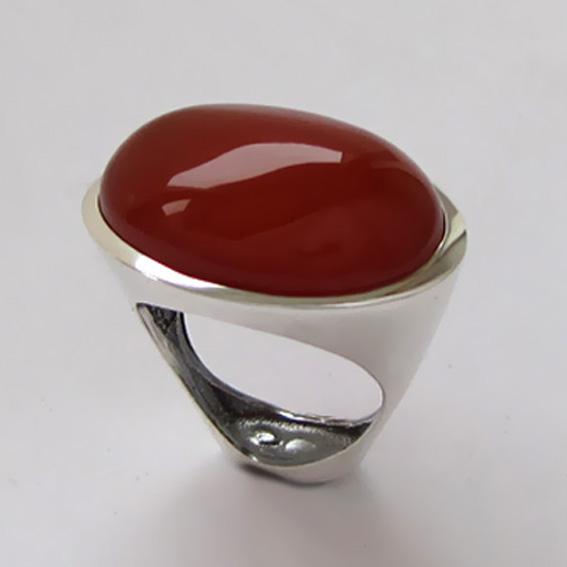 Кольцо ЭСО3 с сердоликом