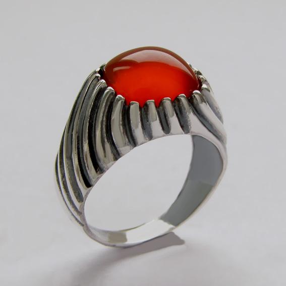 Кольцо с сердоликом, арт. ЭТКВ3
