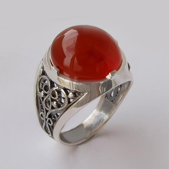 Кольцо с сердоликом, арт. ПЕР315